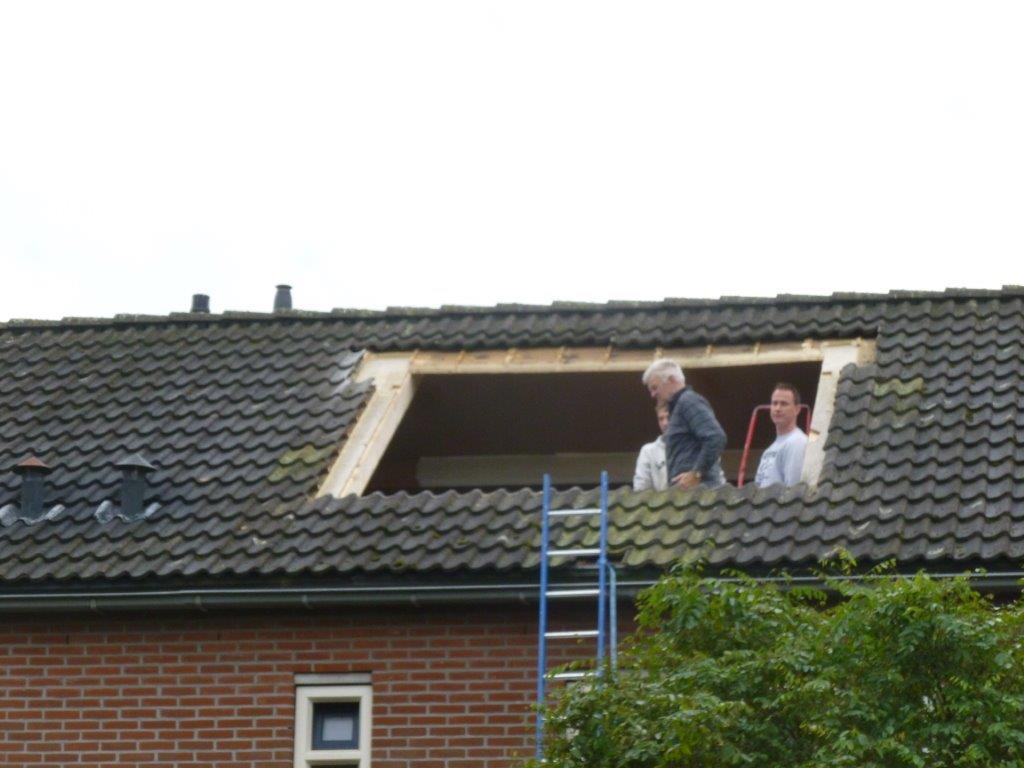 Plaatsen dakkapel